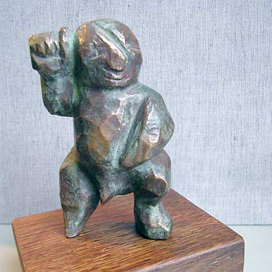 Ulrich Neuhaus Schmuck und Skulptur - Was entsteht - Bronze