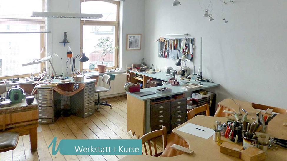 Ulrich Neuhaus Schmuck Skulptur - Wo es entsteht - Werkstatt